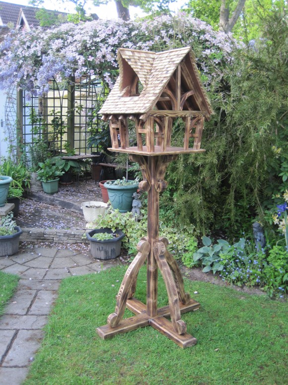 Victorian bespoke bird table by Rob Rendall