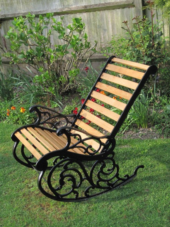 Refurbished rocking chair by Rob Rendall