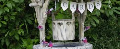 Bespoke wedding wishing well by Rob Rendall